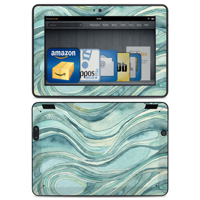 Amazon Kindle HDX Skin - Waves