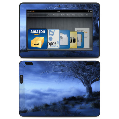 Amazon Kindle HDX Skin - World's Edge Winter