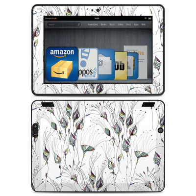Amazon Kindle HDX Skin - Wildflowers