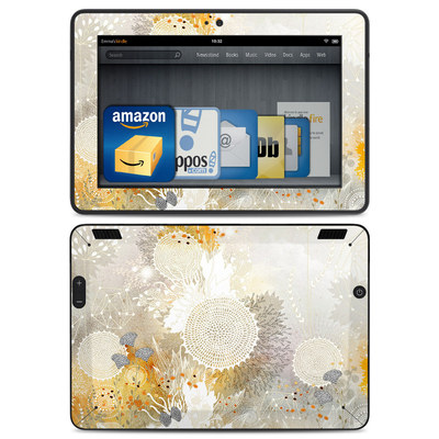 Amazon Kindle HDX Skin - White Velvet