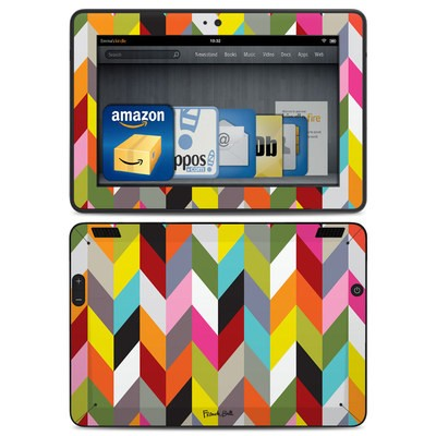Amazon Kindle HDX Skin - Ziggy Condensed