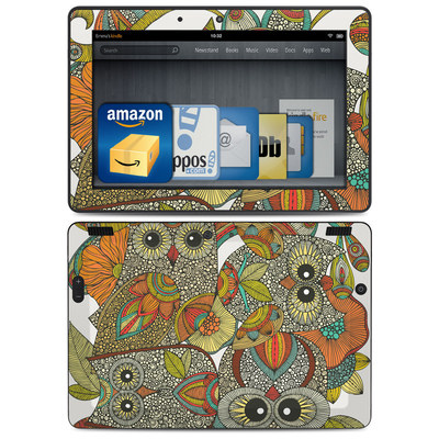 Amazon Kindle HDX 8.9 Skin - 4 owls