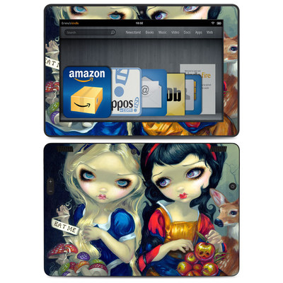 Amazon Kindle HDX 8.9 Skin - Alice & Snow White