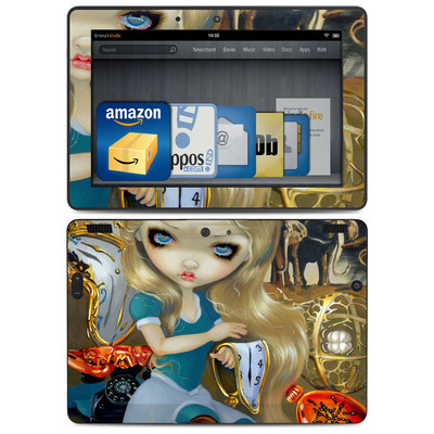Amazon Kindle HDX 8.9 Skin - Alice in a Dali Dream