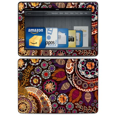 Amazon Kindle HDX 8.9 Skin - Autumn Mehndi