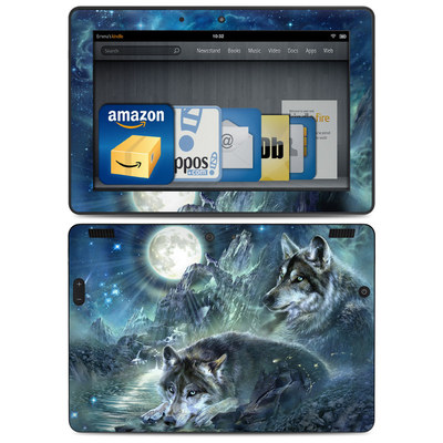 Amazon Kindle HDX 8.9 Skin - Bark At The Moon