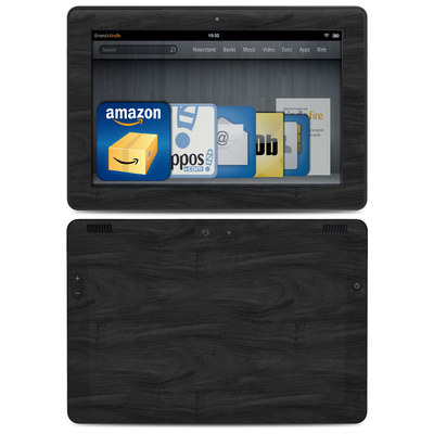 Amazon Kindle HDX 8.9 Skin - Black Woodgrain