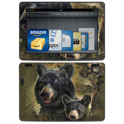 Amazon Kindle HDX 8.9 Skin - Black Bears