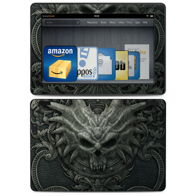 Amazon Kindle HDX 8.9 Skin - Black Book