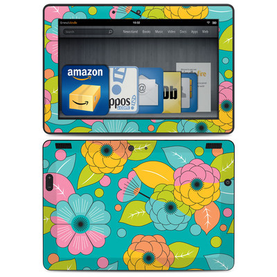 Amazon Kindle HDX 8.9 Skin - Blossoms
