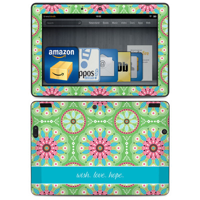 Amazon Kindle HDX 8.9 Skin - Boho