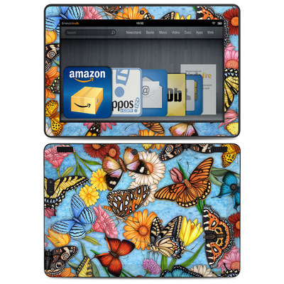 Amazon Kindle HDX 8.9 Skin - Butterfly Land