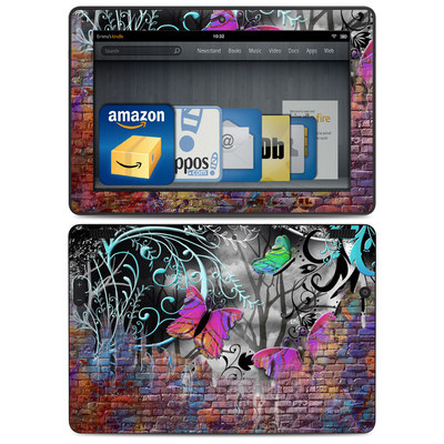 Amazon Kindle HDX 8.9 Skin - Butterfly Wall