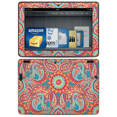 Amazon Kindle HDX 8.9 Skin - Carnival Paisley