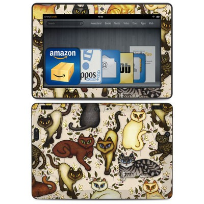Amazon Kindle HDX 8.9 Skin - Cats