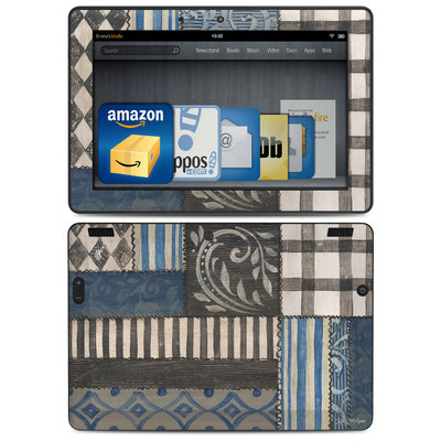 Amazon Kindle HDX 8.9 Skin - Country Chic Blue
