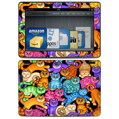 Amazon Kindle HDX 8.9 Skin - Colorful Kittens