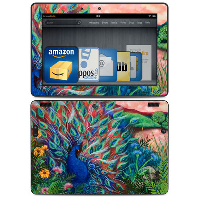 Amazon Kindle HDX 8.9 Skin - Coral Peacock