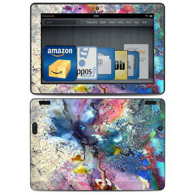 Amazon Kindle HDX 8.9 Skin - Cosmic Flower
