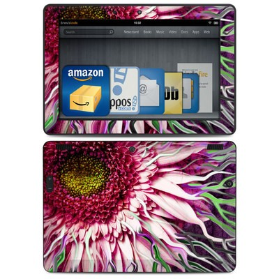 Amazon Kindle HDX 8.9 Skin - Crazy Daisy