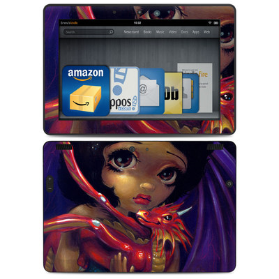 Amazon Kindle HDX 8.9 Skin - Darling Dragonling
