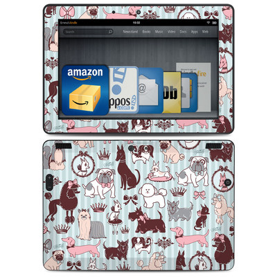 Amazon Kindle HDX 8.9 Skin - Doggy Boudoir
