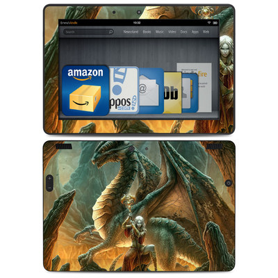 Amazon Kindle HDX 8.9 Skin - Dragon Mage