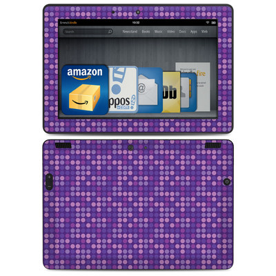 Amazon Kindle HDX 8.9 Skin - Dots Purple