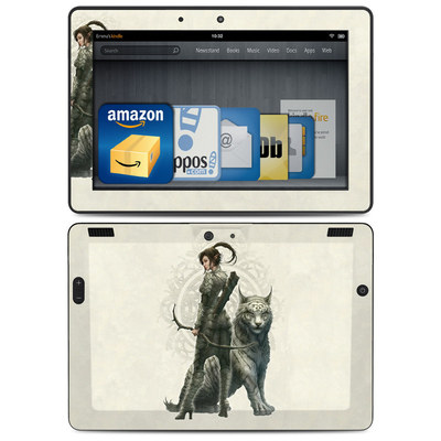 Amazon Kindle HDX 8.9 Skin - Half Elf Girl