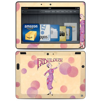 Amazon Kindle HDX 8.9 Skin - Fabulous
