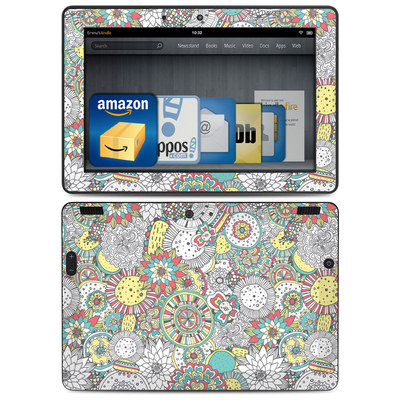 Amazon Kindle HDX 8.9 Skin - Faded Floral