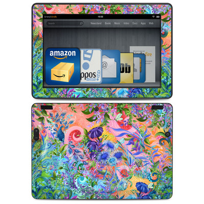 Amazon Kindle HDX 8.9 Skin - Fantasy Garden