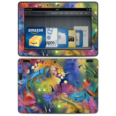 Amazon Kindle HDX 8.9 Skin - Fascination