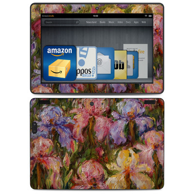 Amazon Kindle HDX 8.9 Skin - Field Of Irises