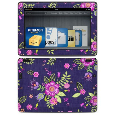 Amazon Kindle HDX 8.9 Skin - Folk Floral