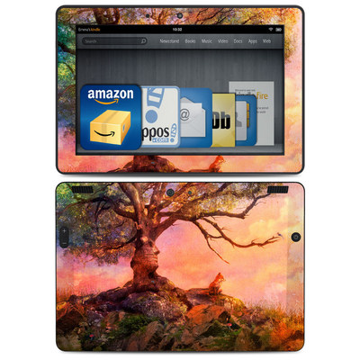 Amazon Kindle HDX 8.9 Skin - Fox Sunset