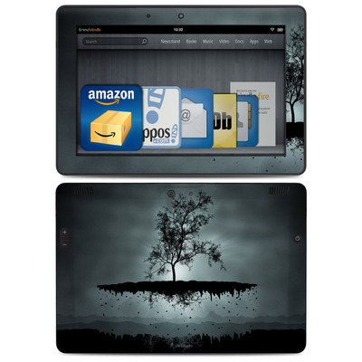 Amazon Kindle HDX 8.9 Skin - Flying Tree Black