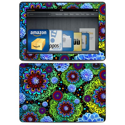 Amazon Kindle HDX 8.9 Skin - Funky Floratopia