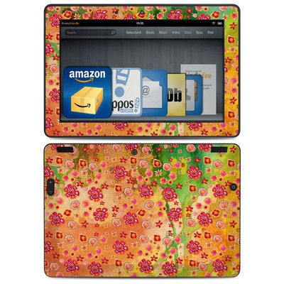 Amazon Kindle HDX 8.9 Skin - Garden Flowers