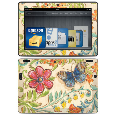 Amazon Kindle HDX 8.9 Skin - Garden Scroll