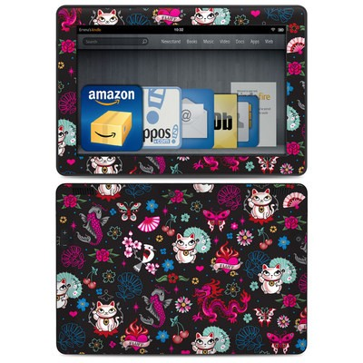 Amazon Kindle HDX 8.9 Skin - Geisha Kitty