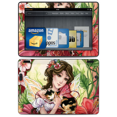 Amazon Kindle HDX 8.9 Skin - Hibiscus Fairy