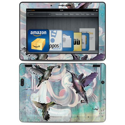 Amazon Kindle HDX 8.9 Skin - Hummingbirds