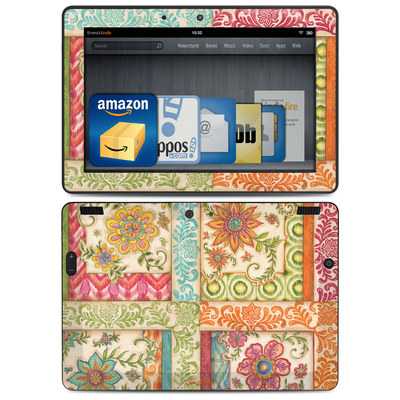 Amazon Kindle HDX 8.9 Skin - Ikat Floral