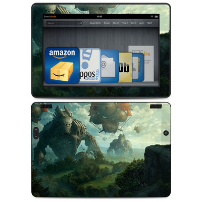 Amazon Kindle HDX 8.9 Skin - Invasion