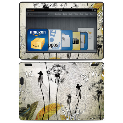 Amazon Kindle HDX 8.9 Skin - Little Dandelion
