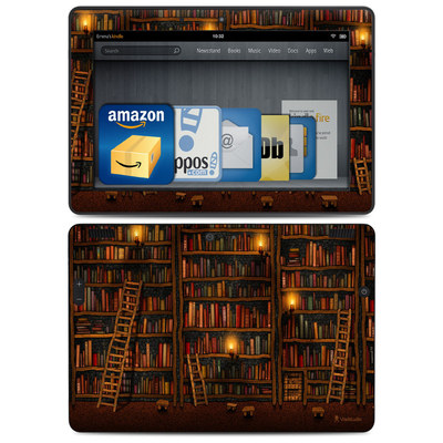 Amazon Kindle HDX 8.9 Skin - Library