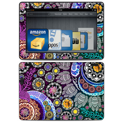 Amazon Kindle HDX 8.9 Skin - Mehndi Garden