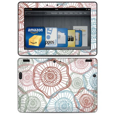 Amazon Kindle HDX 8.9 Skin - Micro Flowers