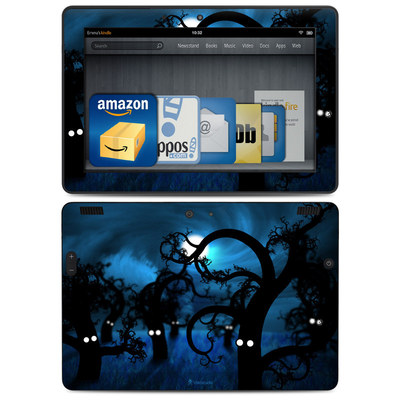Amazon Kindle HDX 8.9 Skin - Midnight Forest